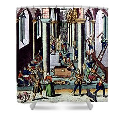 Netherlands: Calvinism Shower Curtain by Granger
