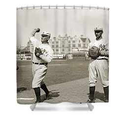 New York Highlanders, 1912 Shower Curtain by Granger
