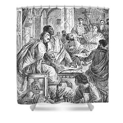 Nicaea Council, 325 A.d Shower Curtain by Granger