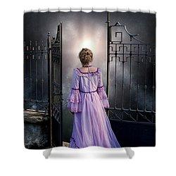 Open Gate Shower Curtain by Joana Kruse