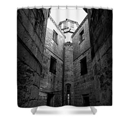 Oppression Shower Curtain by Richard Reeve