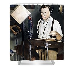Orson Welles (1915-1985) Shower Curtain by Granger