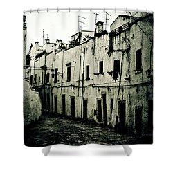 Ostuni - Apulia Shower Curtain by Joana Kruse