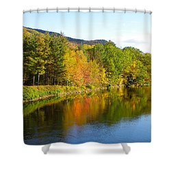 Painted Brook Shower Curtain