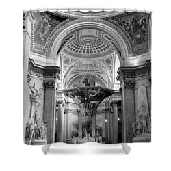 Pantheon Shower Curtain by Sebastian Musial