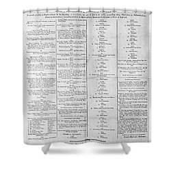 Parade For The Us Constitution Shower Curtain by Photo Researchers