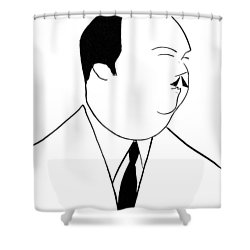 Paul Whiteman (1890-1967) Shower Curtain by Granger