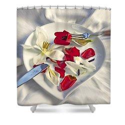 Petals Shower Curtain by Joana Kruse
