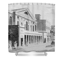 Philadelphia: Theater Shower Curtain by Granger