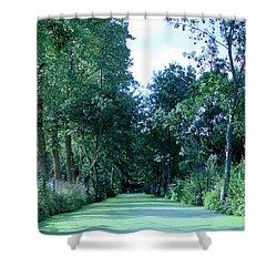 Poitevin Marsh Shower Curtain by Poitevin Marsh