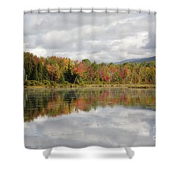 Pondicherry Wildlife Refuge - Jefferson New Hampshire Shower Curtain by Erin Paul Donovan