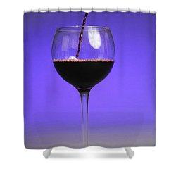 Pouring Wine Shower Curtain by Photo Researchers, Inc.