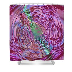 Power Of Mind Shower Curtain
