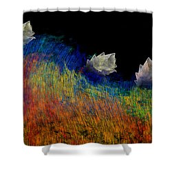 Pure Shower Curtain by Christopher Gaston