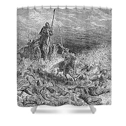 Rabelais: Gargantua Shower Curtain by Granger