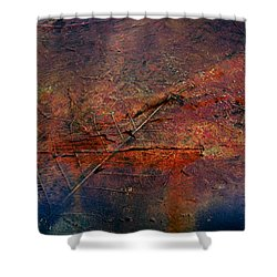 Raging Rapids Shower Curtain by Empty Wall