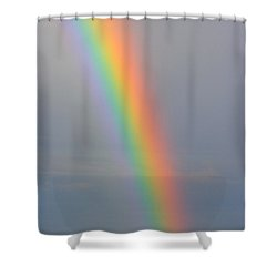 Rainbow Communications Shower Curtain by James BO  Insogna