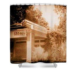Rainbow Gro-mkt  Shower Curtain