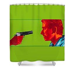 Ringo Shower Curtain by Ellen Patton