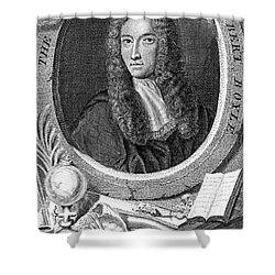 Robert Boyle, British Chemist Shower Curtain by Science Source