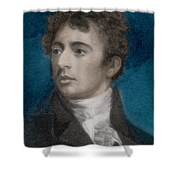 Robert Southey, English Poet Laureate Shower Curtain by Photo Researchers