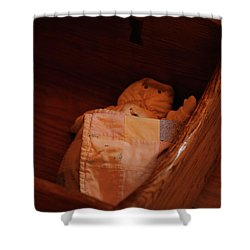 Shower Curtain featuring the photograph Rock-a-bye My Baby by Linda Shafer