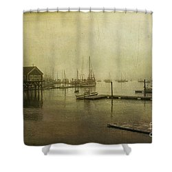 Rockland Harbor Shower Curtain
