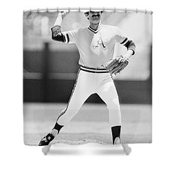 Rollie Fingers (1946- ) Shower Curtain by Granger