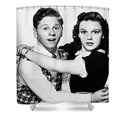 Rooney And Garland, 1938 Shower Curtain by Granger