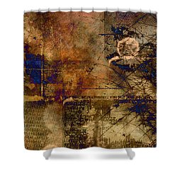Royal Gold Shower Curtain by Christopher Gaston