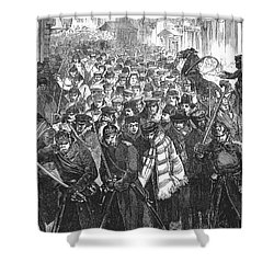 Russia: Moscow, 1881 Shower Curtain by Granger