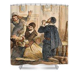 Salem Witchcraft, 1692 Shower Curtain by Granger