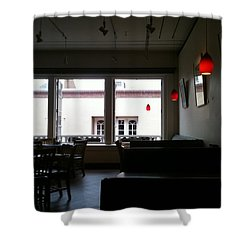 Santa Fe Eatery Shower Curtain