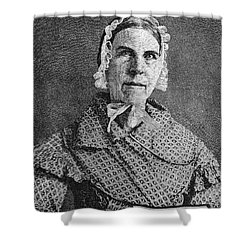 Sarah Moore Grimke Shower Curtain by Granger