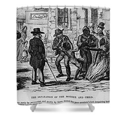 Scene From Uncle Toms Cabin Shower Curtain by Photo Researchers