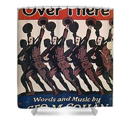 Sheet Music Cover, 1917 Shower Curtain by Granger
