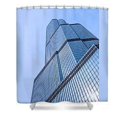 Skyward Shower Curtain by Ann Horn