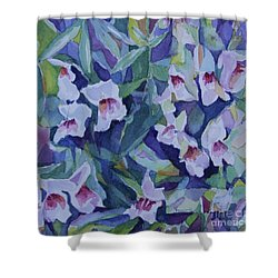 Snap Dragons Shower Curtain