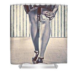 Sockings Shower Curtain by Joana Kruse