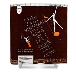 Song Of The Dawn Shower Curtain by Mel Thompson