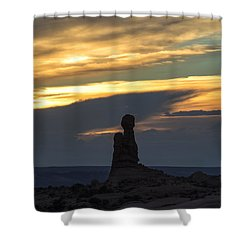 Standing Tall Shower Curtain by Sandra Bronstein
