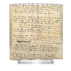 Star Spangled Banner 1814 Shower Curtain by Granger