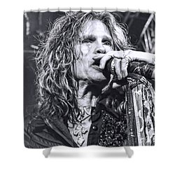 Shower Curtain featuring the photograph Steven Sings by Traci Cottingham