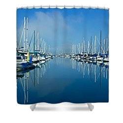 Still Waters Shower Curtain by Heidi Smith
