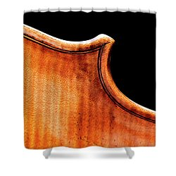 Shower Curtain featuring the photograph Stradivarius Back Corner by Endre Balogh