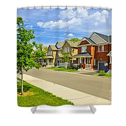 Suburban Homes Shower Curtain by Elena Elisseeva