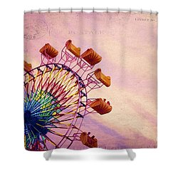 Summer Fun Shower Curtain by Darren Fisher