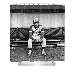 Ted Turner (1938- ) Shower Curtain by Granger
