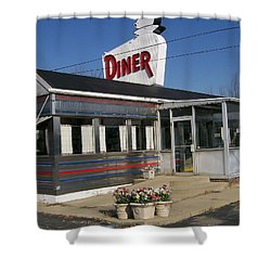 The Diner Shower Curtain
