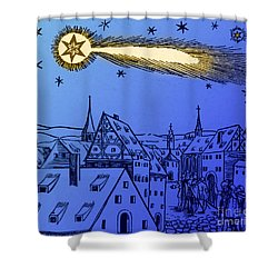 The Great Comet Of 1556 Shower Curtain by Science Source